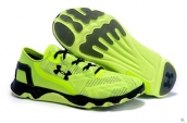 Under Armour Curry Running Shoes Fluorescent Green Black