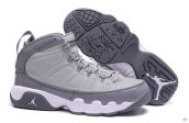 AAA Air Jordan 9 Women Grey White