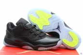 Air Jordan 11 Low AAA Leather Black