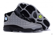AAA Air Jordan 13 Doernbecher Grey Black