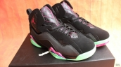 Perfect Women Air Jordan 7 True Flight Black Green Pink 230
