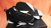 Perfect Air Jordan 7 True Flight Black White 300