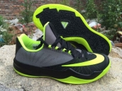 Nike Zoom Run The One Black Grey Fluorescent Green