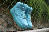Air Force 1 High PRM Women Light Blue