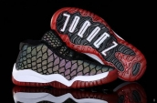 Air Jordan 11 Kids Chameleon Black Red
