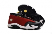 Air Jordan 14 Low AAA Red Black White