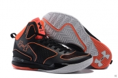 Ua Curry III Black Orange Red