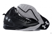 Ua Curry III Black White