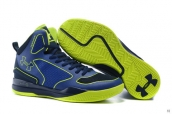 Ua Curry III Blue Green
