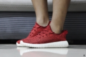 Women Adidas Kanye West Yeezy 350 Boost Red White