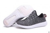 Women Adidas Kanye West Yeezy 350 Boost Dark Grey White