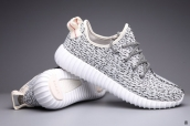 Women Adidas Kanye West Yeezy 350 Boost Light Grey White