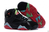 Air Jordan 7 Kids Black Green Red