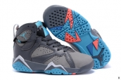 Air Jordan 7 Kids Grey Blue White