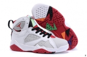 Air Jordan 7 Kids White Red Black
