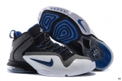 Nike Air Penny 6 Black Grey White Blue