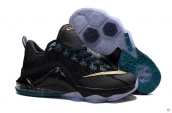 Nike Lebron 12 Low EP Black Golden