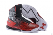 UA Curry High Black Red White