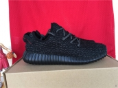 Women Adidas Yeezy 350 Boost Black