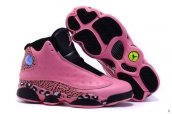 AAA Air Jordan 13 Women Leopard Pink Black