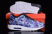 Women AAA Air Max 1 Ultra Lotc Blue Black White