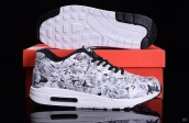 Women AAA Air Max 1 Ultra Lotc Grey Black White