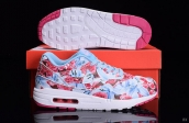 Women AAA Air Max 1 Ultra Lotc Pink Blue White