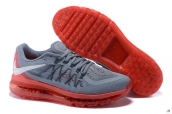 Air Max 2015 AAA Grey Red White