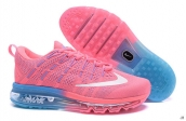 AAA Air Max 2016 Women Flyknit Pink Light Blue White