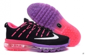 AAA Air Max 2016 Women Flyknit Black Pink Purple White