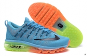 AAA Air Max 2016 Women Flyknit Blue Black Orange Green