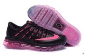 AAA Air Max 2016 Women Leather Black Pink