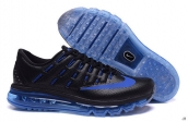 AAA Air Max 2016 Leather Black Blue