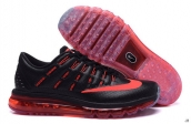 AAA Air Max 2016 Leather Black Red