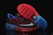 AAA Air Max 2016 Flyknit Black Blue Red White