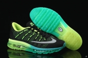 AAA Air Max 2016 Flyknit Black Green White