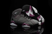 Air Jordan 7 Kids Grey Purple Black White