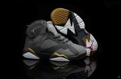 Air Jordan 7 Kids Grey Golden