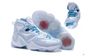 Nike Lebron 13 Women AAA White Blue