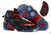 Nike Lebron 13 Women AAA Black Red