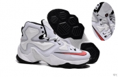 Nike Lebron 13 AAA White Black Red