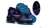 Nike Lebron 13 AAA Black Purple Blue