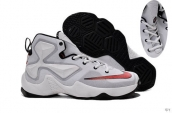 Nike Lebron 13 Kids White Black Red