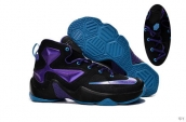 Nike Lebron 13 Kids Black Purple