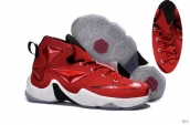 Nike Lebron 13 Kids Red White Black