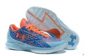 Ua Curry One Low Easter Blue Orange Light Green
