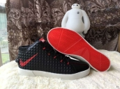 Nike Lebron 12 Casual Shoes Mid Black Red