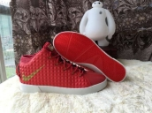 Nike Lebron 12 Casual Shoes Mid Red White