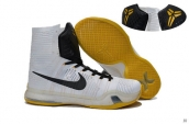 Nike Kobe X High White Black Yellow