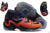 Nike Lebron 13 AAA Charity Black Red Purple